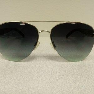 Ann Taylor Loft Polit Green Sunglasses